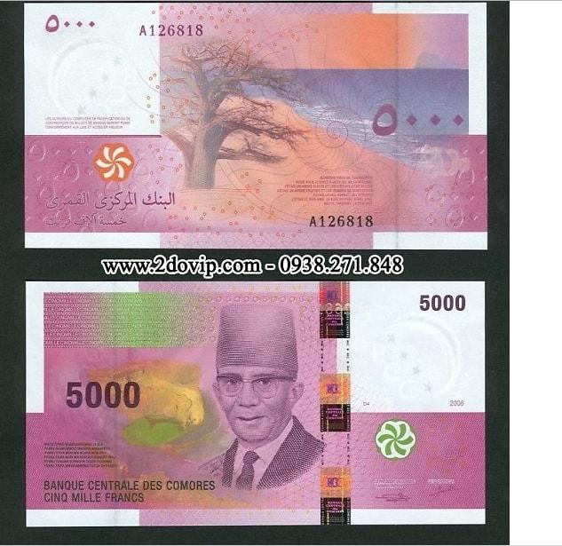 Tờ franc của Comoros