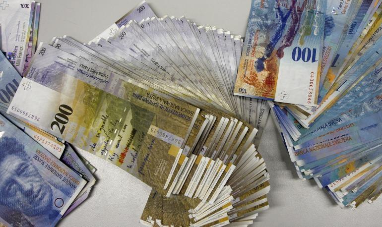 Tờ franc của Thụy Sĩ