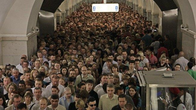 Đông người đi tàu điện ngầm nhất thế giới