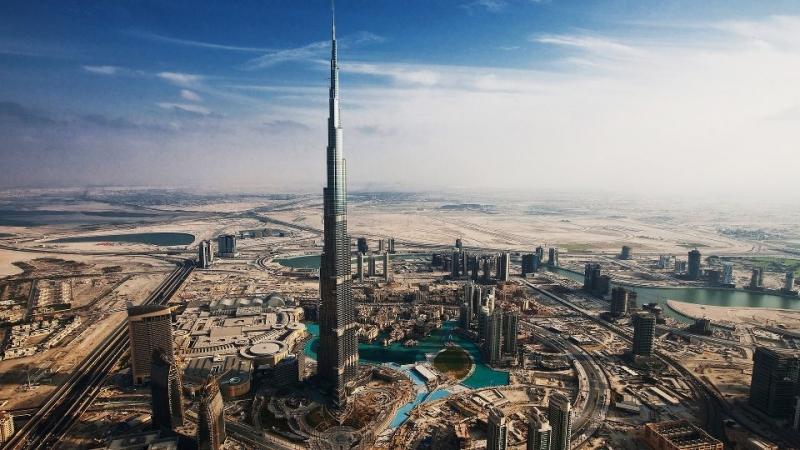 Tòa nhà Burj Khalifa – UAE
