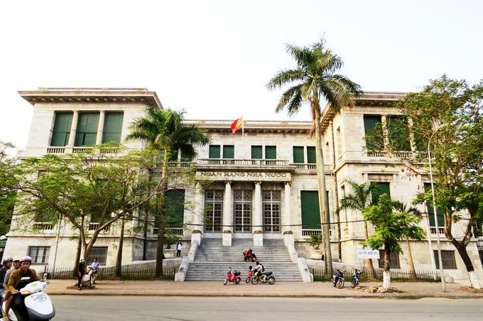 Tòa nhà ngân hàng nhà nước chi nhánh Hải Phòng