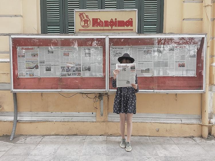 Tòa soạn báo Hà Nội mới