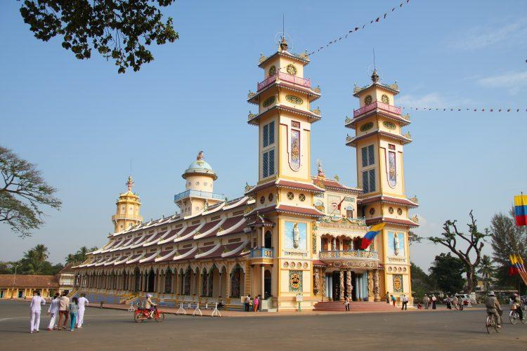 Tòa thành thất cao đài Tây Ninh