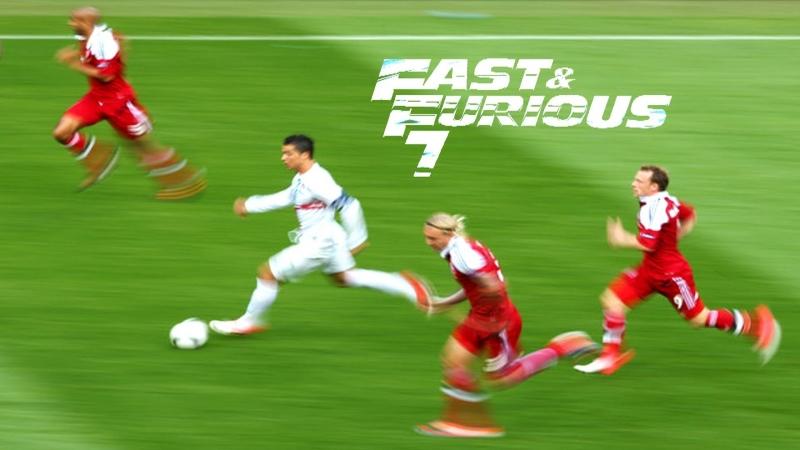Tốc độ khủng khiếp của Ronaldo