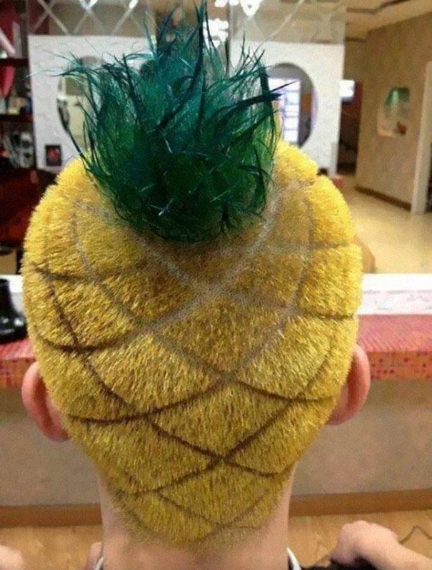 Mái tóc quả dứa