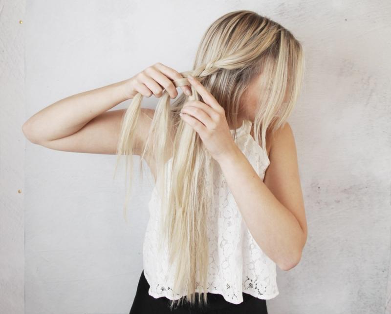 Tết tóc xù tạo cảm giác tóc dày hơn