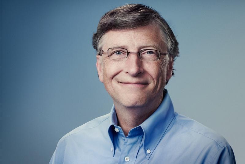 Bill Gates -  doanh nhân người Mỹ, nhà từ thiện, tác giả và chủ tịch tập đoàn Microsoft