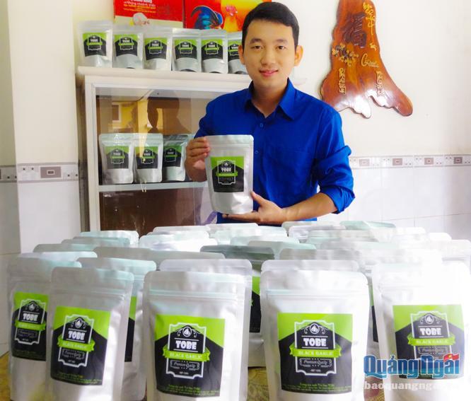 Chàng trai 8X Lương Thế Cương khởi nghiệp kinh doanh với sản phẩm tỏi đen ToBe