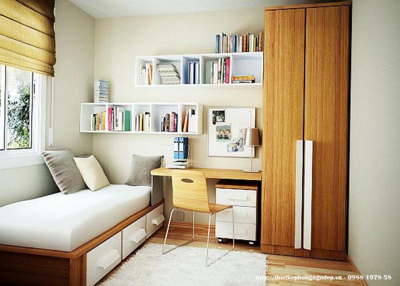Sử dụng nội thất nhỏ gọn, tiện dụng