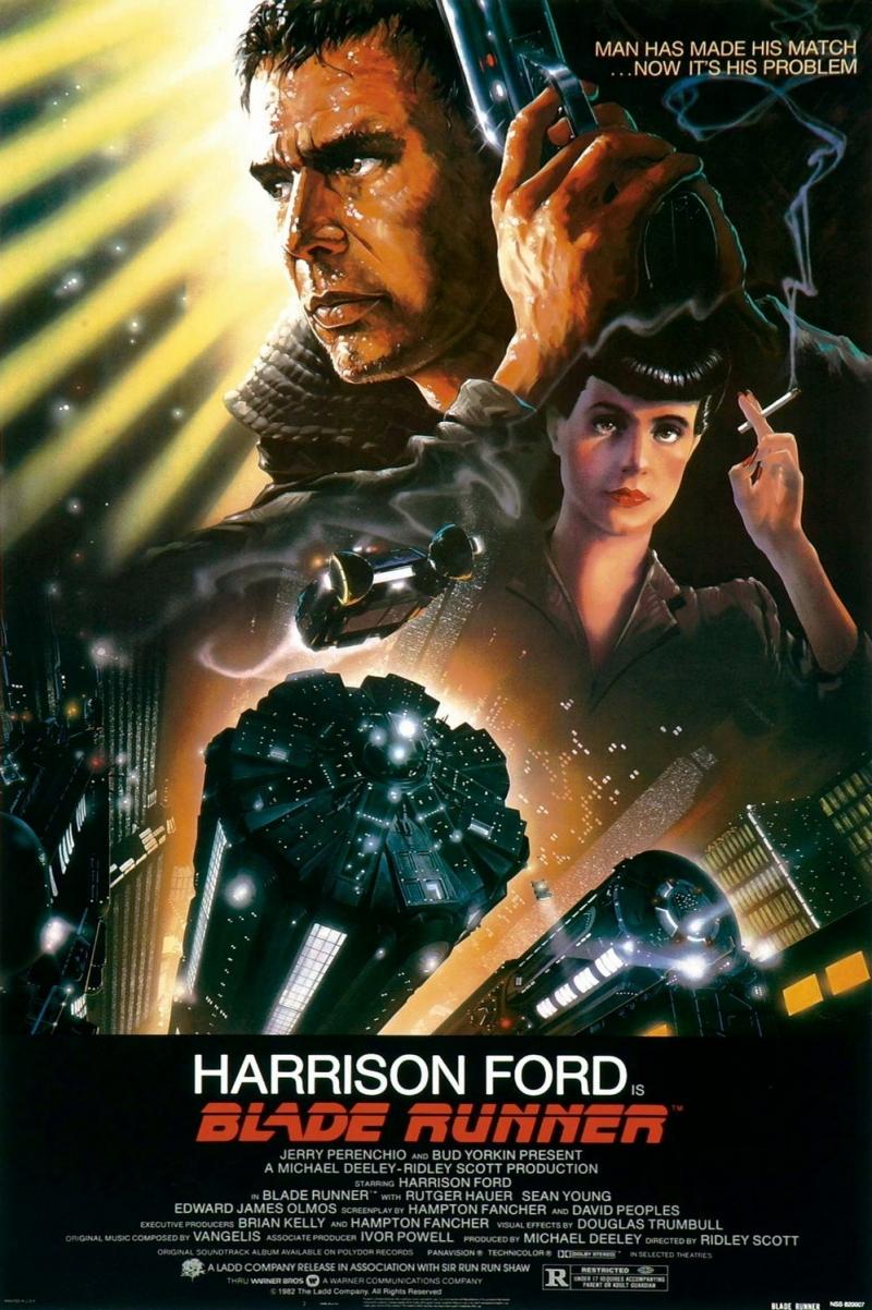 Poster phim Blade Runner năm 1982