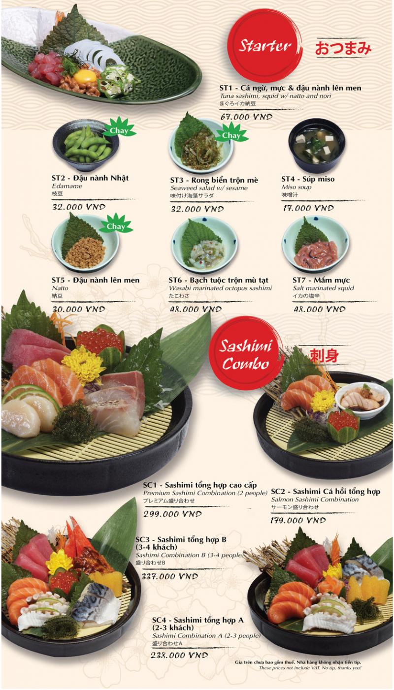 Nếu bạn là fan hâm mộ của những món ngon xứ sở Phù tang như sushi, sashimi, súp miso, cơm bento… thì Tokyo Deli là địa chỉ khó lòng bỏ qua được