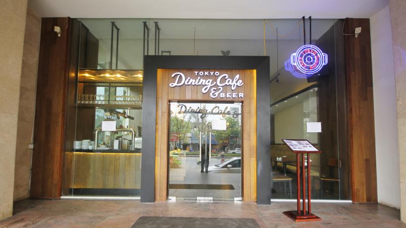 Không gian tinh tế, sang trọng tại Toky Dining Cafe & Beer