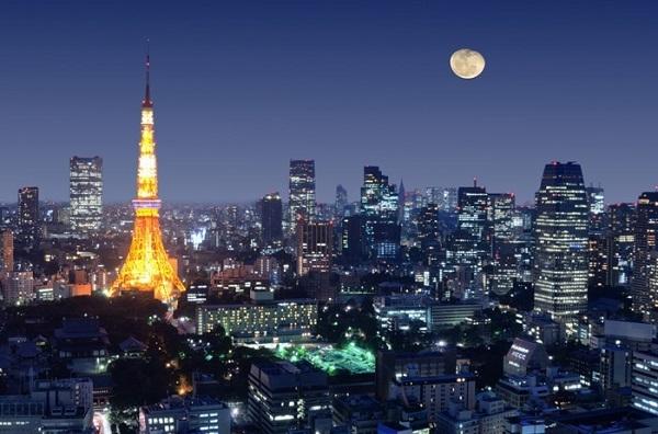 Tokyo rực rỡ sôi động