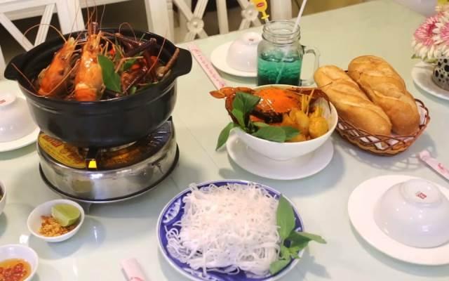 Món ăn được chế biến từ những con cua Cà Mau