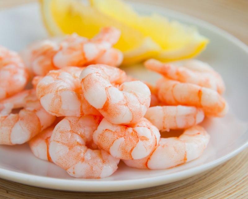 Tôm, Cá chứa nhiều kẽm là chất cần thiết để lành vết loét dạ dày
