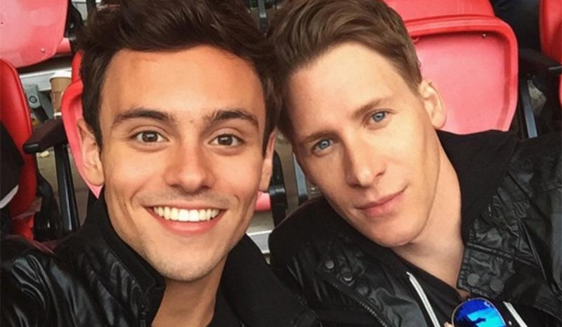 Tom Daley và Dustin Lance Black