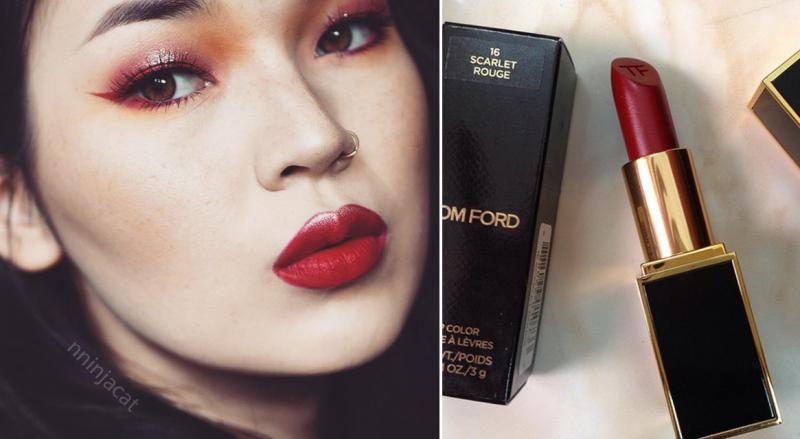 Tom Ford Lip Color 16 ( đỏ máu).