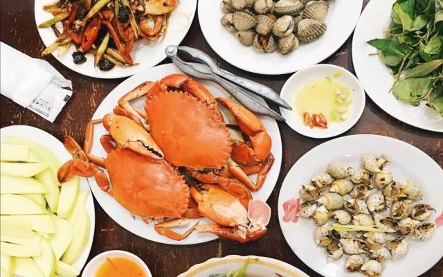Những món hải sản tươi sống của Tomato