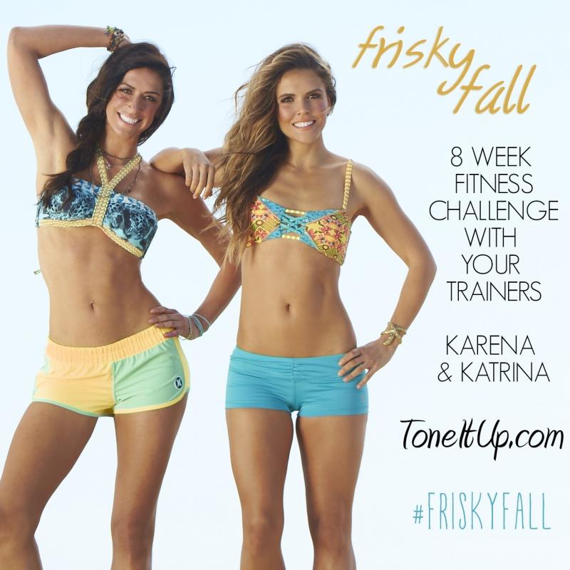 Thân hình hoàn hảo của 2 cô nàng huấn luyện viên Katrina Scott và Karena Dawn.