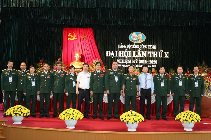 Đại hội Đảng bộ Tổng công ty 319.