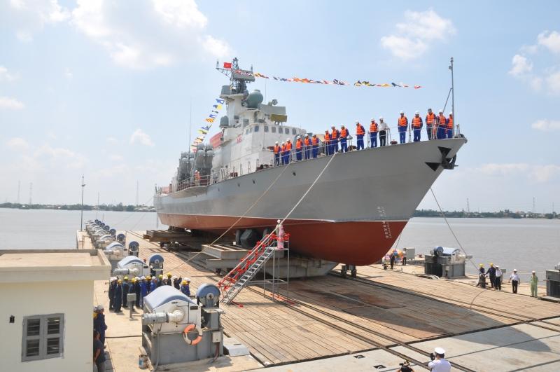 Tổng Công ty Ba Son hạ thủy tàu tên lửa tấn công nhanh