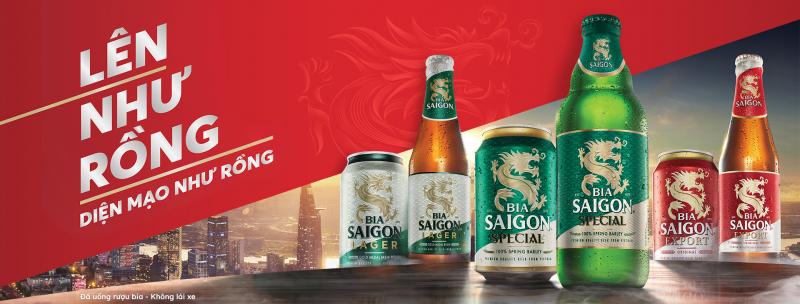 Bia Sài Gòn chiếm lĩnh thị trường