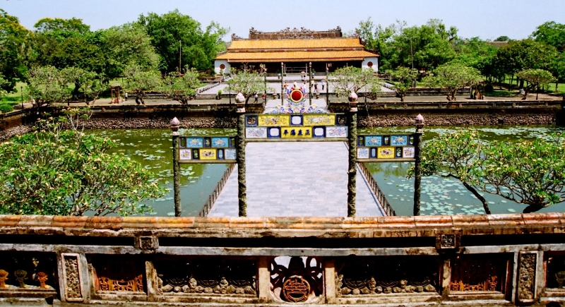 Một trong những hình ảnh quảng bá du lịch Việt Nam