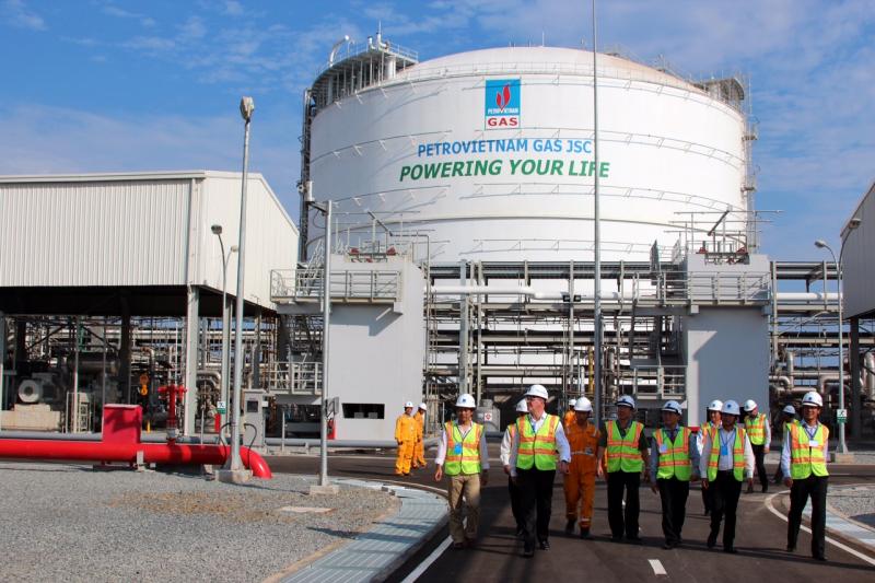Nhà máy chế biến các loại sản phẩm khí