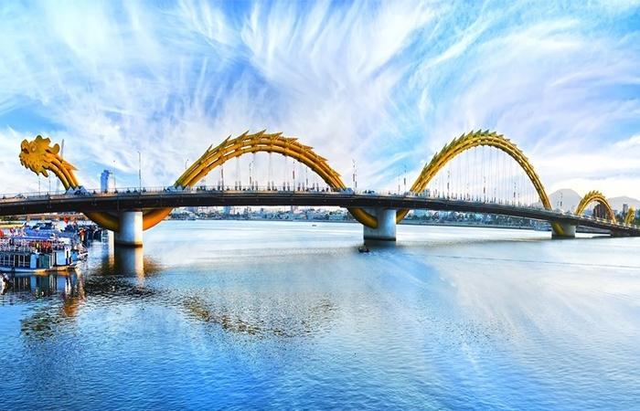 Cầu Rồng nổi tiếng do Tổng công ty xây dựng công trình giao thông 1(CIENCO1) xây dựng