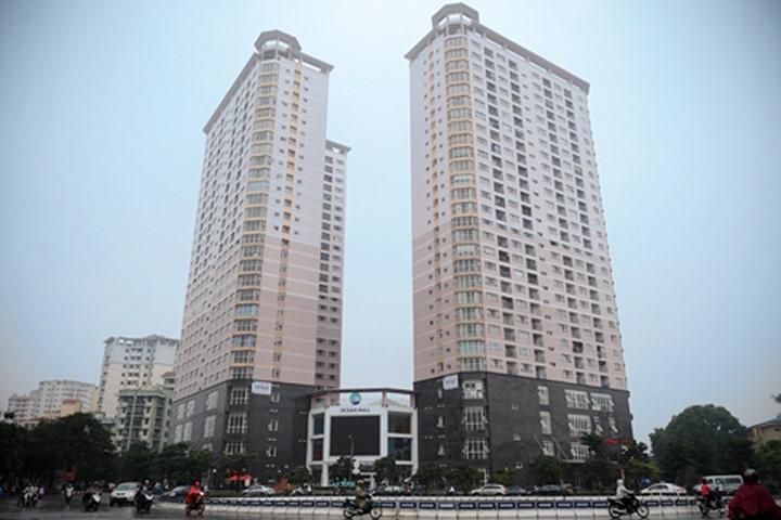 Tòa nhà HANCORP Plaza do Tổng công ty xây dựng Hà Nội xây dựng