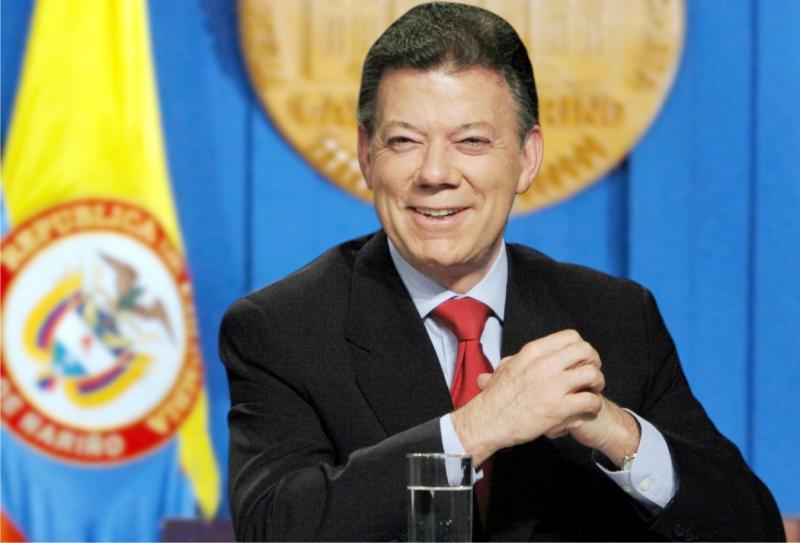 Tổng thống Colombia Juan Manuel Santos là chủ nhân giải thưởng Nobel hòa bình năm 2016