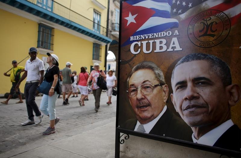 Tổng thống Mỹ Barack Obama đến thăm Cuba