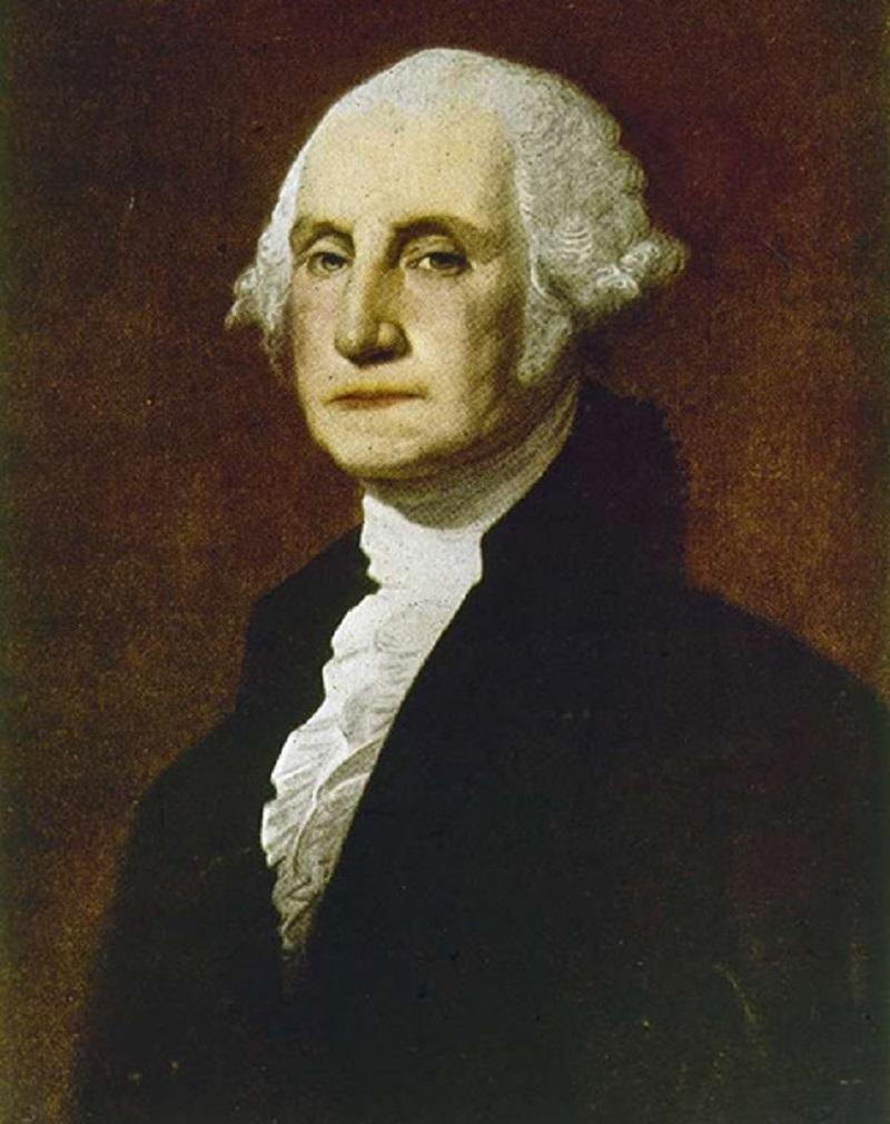 Tổng thống Mỹ George Washington cũng tô son
