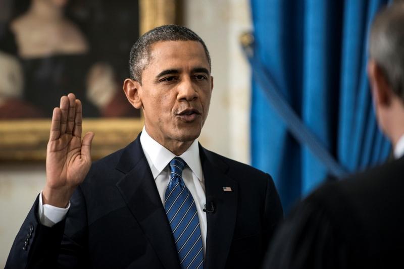 Thời điểm tân tổng thống Mỹ đọc lời tuyên thệ là khoảnh khắc quan trọng nhất