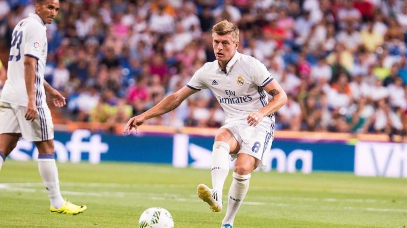Kroos là lựa chọn số 1 ở tuyến giữa Real Madrid
