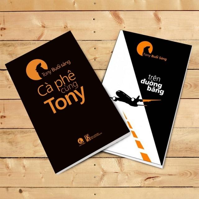Cuốn sách trên đường băng của Tony Buổi Sáng