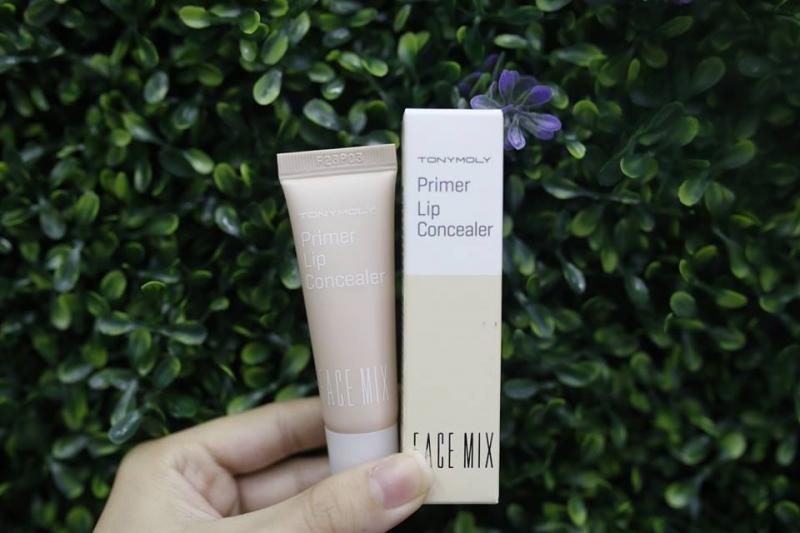 Tony Face Mix Primer Lip Concealer - Kem che khuyết điểm cho môi tốt nhất hiện nay
