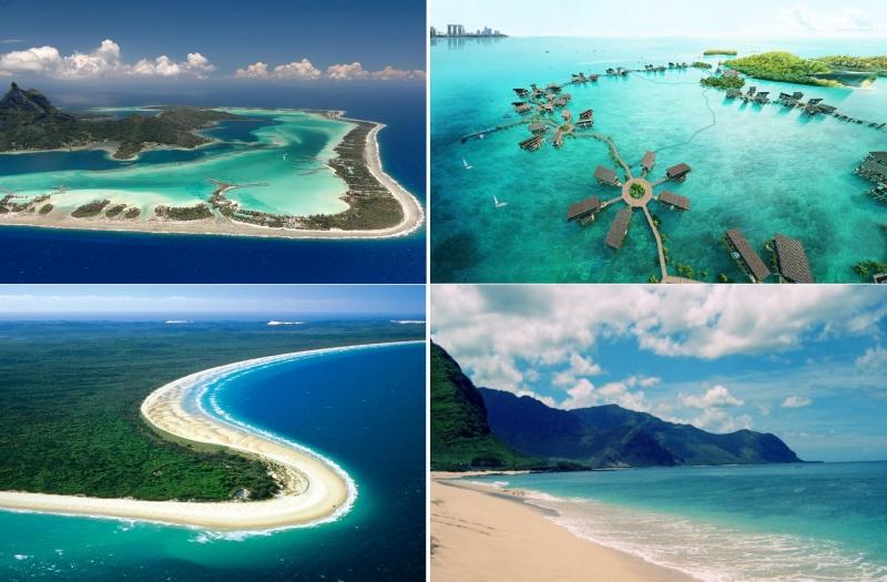 Top 10 Thiên đường du lịch biển trên thế giới