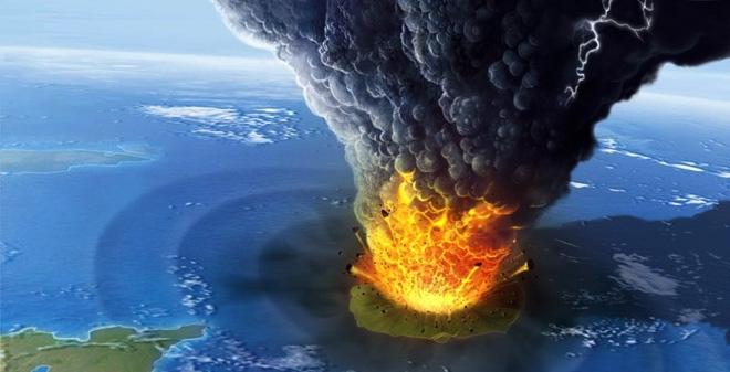 Vụ nổ Krakatoa năm 1883 tạo ra