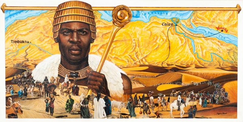 Mansa Musa (1280 - 1337) Người giàu nhất mọi thời đại