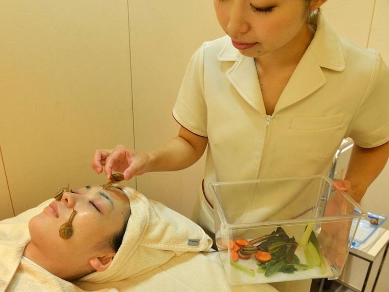 Nhiều người cho rằng dịch nhầy của ốc sên chứa nhiều vitamin E, vitamin A,...