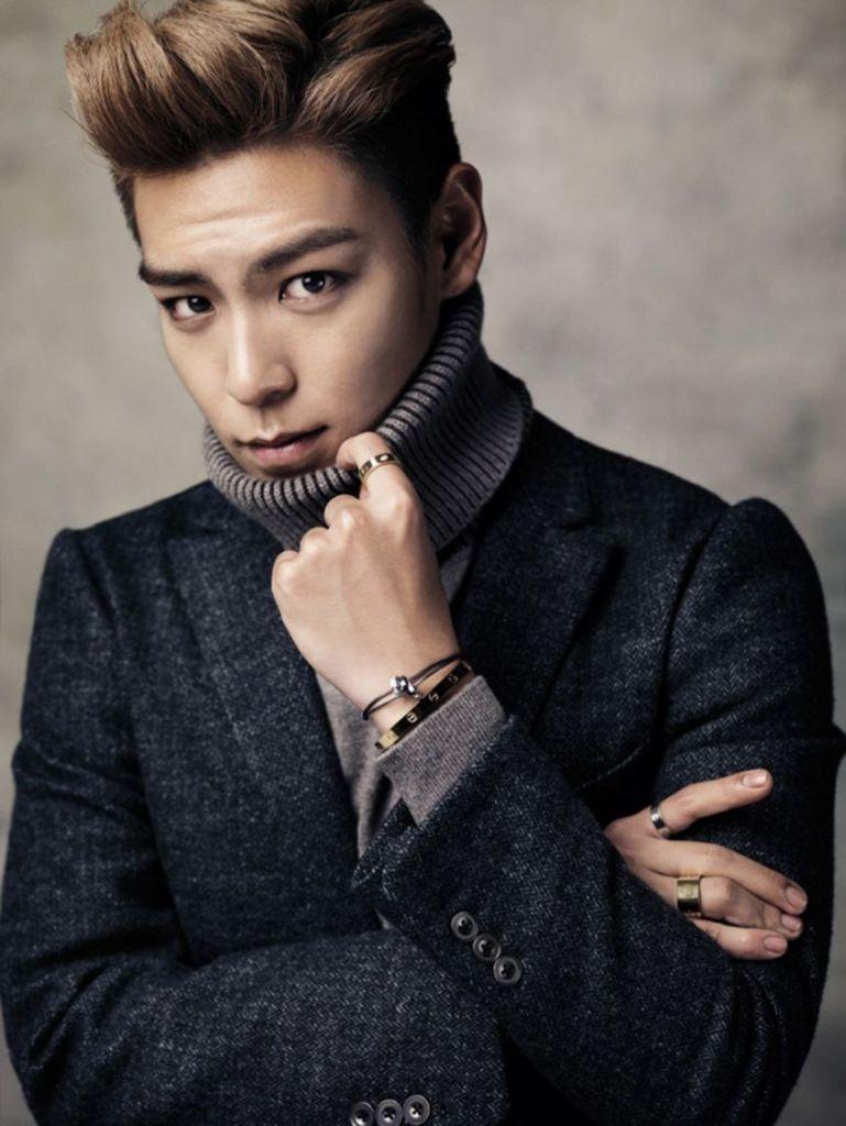 Vẻ đẹp trai đầy lạnh lùng của chàng trai cá tính nhà YG - T.O.P (Nguồn: Sưu tầm)