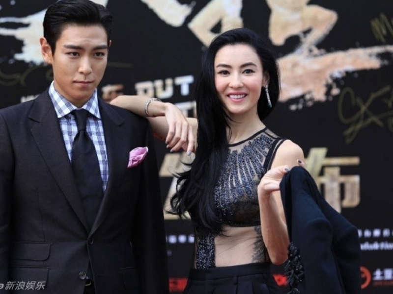 T.O.P và Trương Bá Chi tại Liên hoan phim quốc tế Thượng Hải 2016 (Nguồn: Sưu tầm)