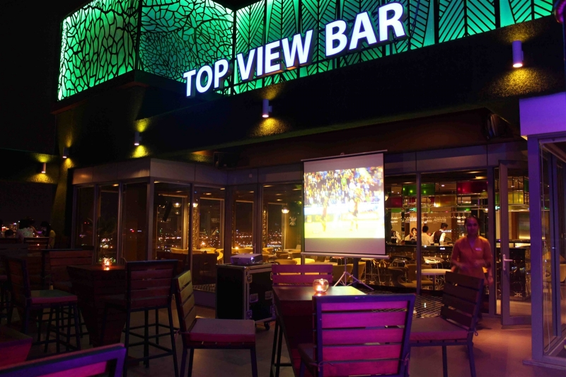 Top View Bar cafe