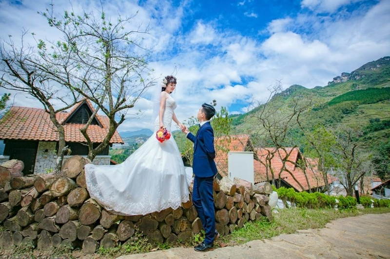 Bộ ảnh cưới của bạn sẽ thêm phần sinh động khi chụp tại khu nghĩ dưỡng Topas Ecolodge