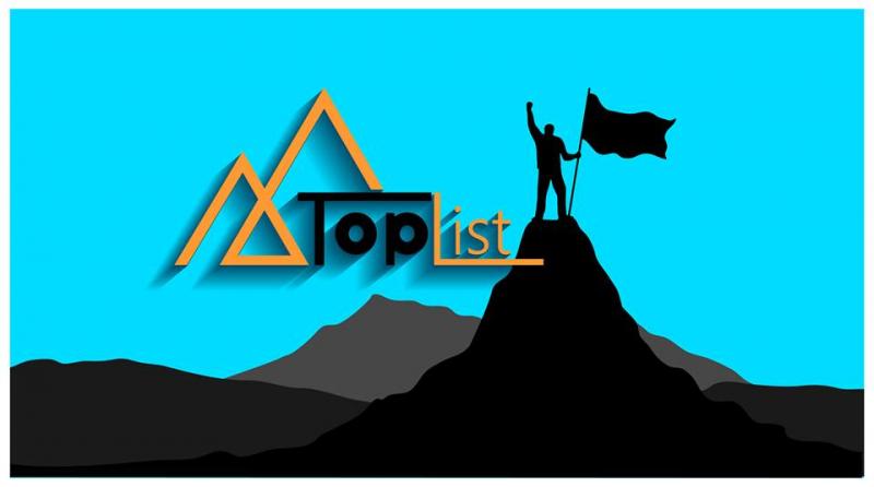 Toplist có nghĩa là những danh sách hàng đầu, được viết theo dạng top ở mọi lĩnh vực trong cuộc sống.