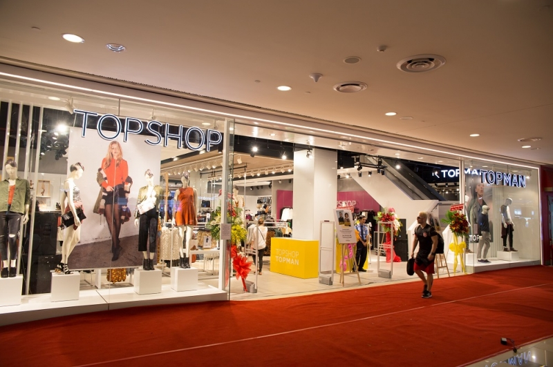 Cửa hàng Topshop - Topman tại TTTM SC Vivo City- TPHCM