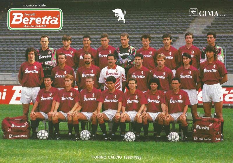 Đội hình Torino đoạt cúp năm 1993