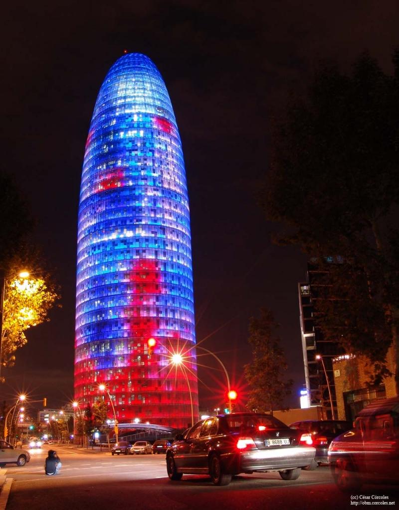 Torre Agbar, Barcelona, Tây Ban Nha