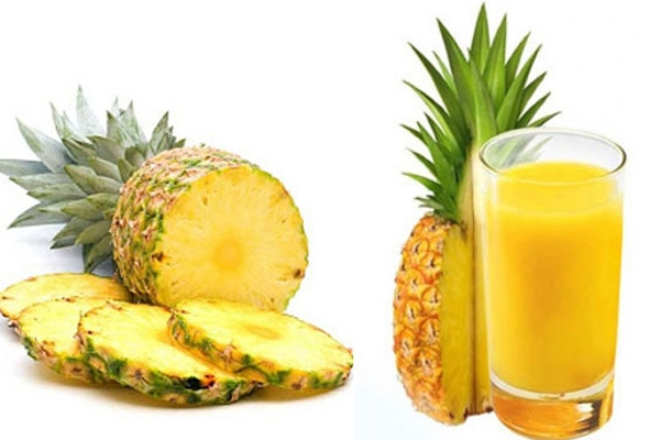 Dứa có chứa Beta-carotene và Vitamin A là tốt cho mắt.